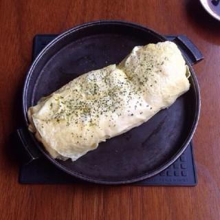 明太子起司燒蛋捲 - 位於東區的鐵喫茶燒餃子 (東區) | 新竹/苗栗