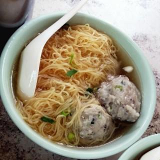 鯪魚球麵 - 位於佐敦的沾仔記麵食 (佐敦) | 香港