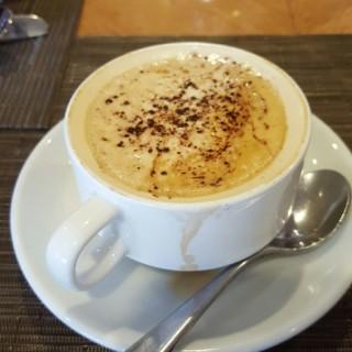 Hot Cappuccino -  Chow Kit / Riverside Café (Chow Kit) Klang Valley