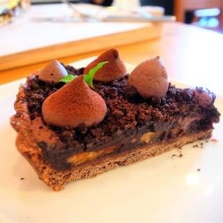 香蕉巧克力塔 -   / 好拾日咖啡館 (桃園區)|桃園