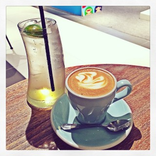 Lime and honey soda/ skinny Cappuccino  - 位於尖沙咀的Espresso Alchemy (尖沙咀) | 香港