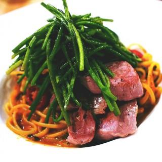番茄鯷魚豬肉義大利麵 - Xinyi District's Ducky Restaurant (Xinyi District)|Taipei