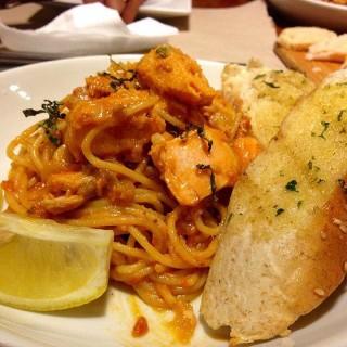 Salmon Pasta - Makati's Poco Deli (Makati)|Metro Manila