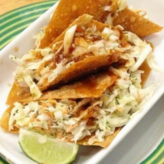 wonton taco - Senayan's Applebee's (Senayan)|Jakarta