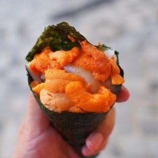 大馬糞海膽鮮帶子手卷 - 位於尖沙咀的勁回味 (尖沙咀) | 香港