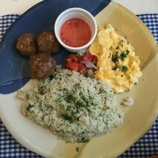 Longanisa with Herbed Rice and Scrambled Egg -  dari Rustic Mornings by Isabelo (San Roque ) di San Roque  |Metro Manila