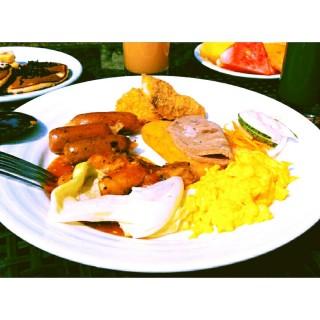 Sausage and scrambled egg - 位于Wonokromo的Janggala Restaurant (Wonokromo)   泗水