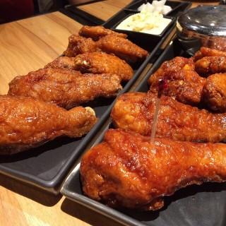 ไก่ทอดบอนชอน - Khlongtan Nuea's BonChon Chicken (บอนชอน ชิคเก้น) (Khlongtan Nuea)|Bangkok