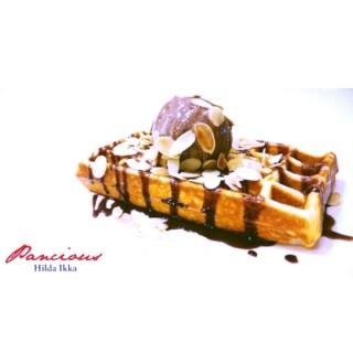 Coco Baileys Waffle - 位于Mayjen Sungkono的Pancious Pancake House (Mayjen Sungkono)   泗水