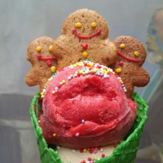 raspberry sorbet - Senopati's Le Cafe Gourmand (Senopati)|Jakarta
