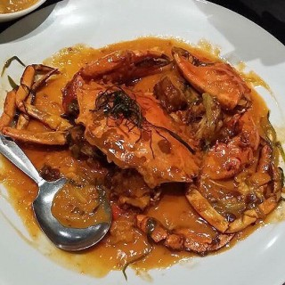 Crab Sauteed in Olive Oil and Garlic with Aligue - Makati's Mesa (Makati)|Metro Manila