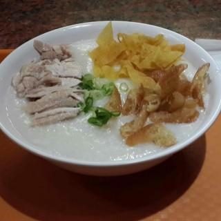 bubur ayam -  dari Singapore Hainanese Chicken Rice (Pluit) di Pluit |Jakarta