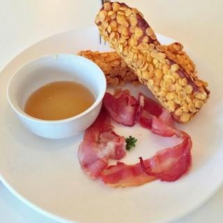 Crispy Cornflake Toast bacon - Cheras's Bookmark Coffee (Cheras)|Klang Valley