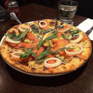 Salmon Pizza - Seputeh's Italiannies (Seputeh)|Klang Valley