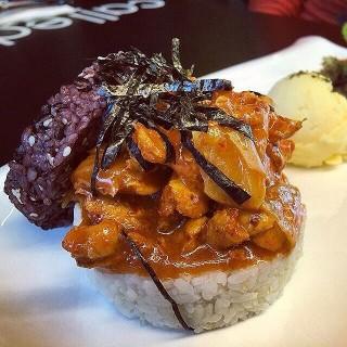Spicy Chicken Rice Burger - Damansara Perdana's Bungkus Cafe (Damansara Perdana)|Klang Valley