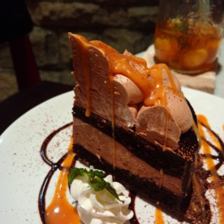 nutella chocolate mud cake - Slipi's Kitchenette (Slipi)|Jakarta