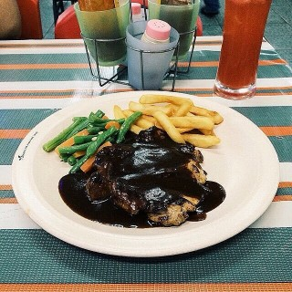 Black Pepper Chicken Chop -  Ampang / Suzi's Corner Steak Hut (Ampang)|Klang Valley