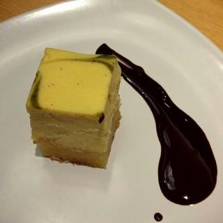 Matcha Cheese Cake -  dari Kushiya Monogatari (Slipi) di Slipi |Jakarta