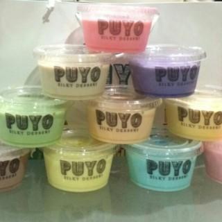 silky pudding -  dari Puyo Silky Desserts (Kuningan) di Kuningan |Jakarta