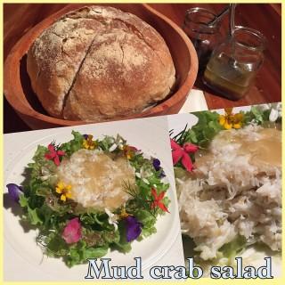 Mud crab salad -  dari Cowrie Cove Restaurant (Manguiao) di Manguiao |Cebu