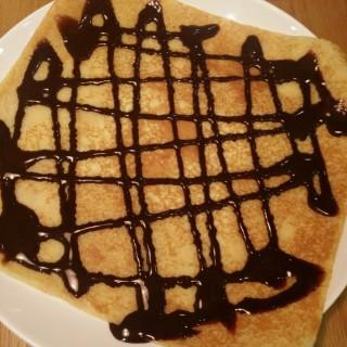 Chocolate Sauce Crepe - 位於灣仔的Odelice! (灣仔) | 香港