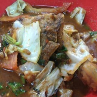 ayam gongso - Central Semarang's Warung Makan Mak Yek (Central Semarang)|Semarang