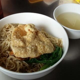 bakmi pangsit goreng -  Cihampelas / Bakmi GM (Cihampelas) Bandung