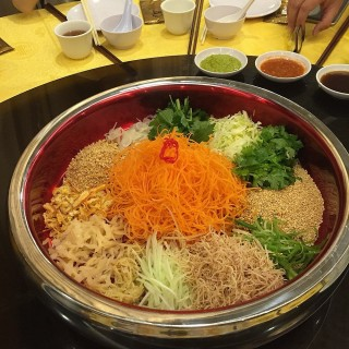 Yu Sheng with abalone - Toa Payoh's Swatow Seafood Restaurant (Toa Payoh)|Singapore