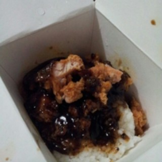 bento blackpepper sauce -   / Kentucky Fried Chicken (KFC) (Soekarno Hatta)|Bandung