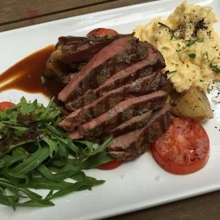 Steak with scrambled egg -  Dover / Da Paolo Bistro Bar (Dover)|Singapore