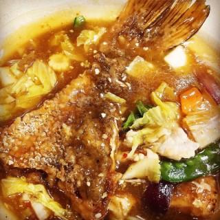 Claypot Braised Fish (砂煲红烧鱼) - Pasir Ris's Kimly Seafood (Pasir Ris)|Singapore