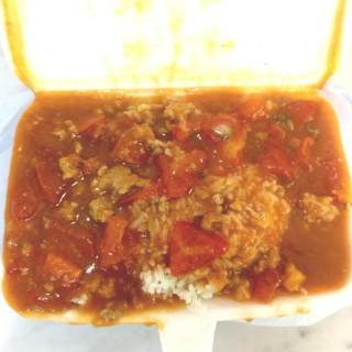 香草鮮茄免治肉醬飯 - 位於的銀都冰室 (香港仔) | 香港