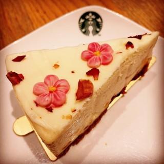 Lychee Cheesecake -   / Starbucks (Tampines)|Singapore