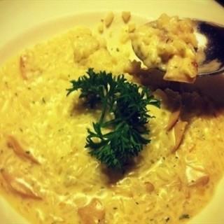 蘑菇烩米 -  dari 松果西餐厅 (文化西路) di 文化西路 |jinan