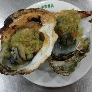 生蚝 - ใน จากร้าน图门串烤 (人民广场) Shanghai
