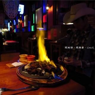 西部火焰牛仔腿 - gongyedadao's Mr.Rocky BAR (gongyedadao)|Guangzhou