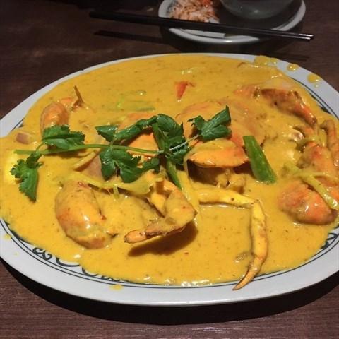 咖喱蟹 - Gongyuanqian's 大头虾越式风味 Soup - Guangzhou