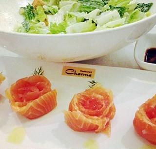 烟熏三文鱼玫瑰 - 位于西单的港丽餐厅 (西单) | 北京