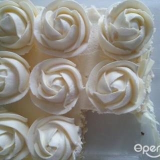 玫瑰芝士蛋糕 - ใน จากร้าน蜜时cake (江汉区) Wu Han