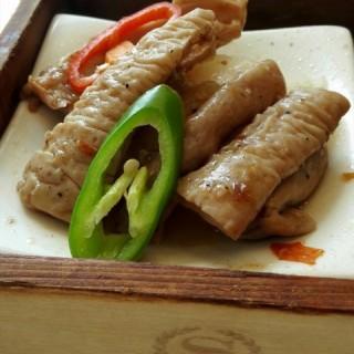 黑椒牛肚 - tianhecheng's 采悦轩中餐厅 (tianhecheng) Guangzhou