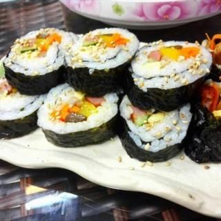 紫菜包饭 - baiyunqu's 明洞style韩式餐吧 (baiyunqu)|Guangzhou