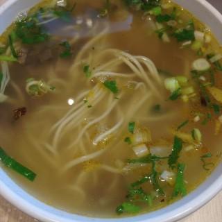 骨汤牛肉面(小碗) - 位于劲松/潘家园的西部马华牛肉面 (劲松/潘家园) | 北京