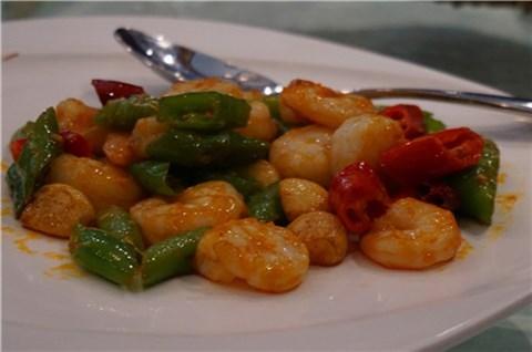 果仁宫爆虾球 - 福禧餐厅(福禧酒窖) - 適合大夥人 - 中關村 - 北京