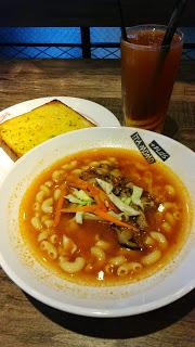 雜菌蕃茄湯通粉早餐 - 位於屯門的意樂餐廳 (屯門) | 香港