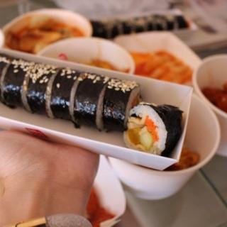 壽司卷 $30 - 位於旺角的뽀끼 正宗韓國小食 (旺角) | 香港