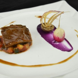 Red Wine Braised Short Rib |Ratatouille |Sweet Potato Puree 紅酒慢燴牛肋骨 |普羅旺斯雜菜 |蕃薯蓉 - ใน觀塘 จากร้านCaldo Dining Room (觀塘)|ฮ่องกง