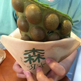 超濃香綠茶Oreo雞蛋仔 - 位於元朗的森 (元朗) | 香港