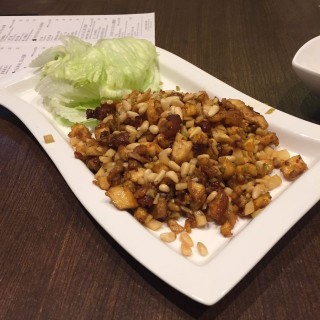 摩登肝醬片皮雞+菜盞炒雞崧 - 位於九龍塘的八月花 (九龍塘) | 香港