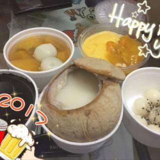 蕃薯、芝麻糊、豆腐花、燉椰皇 - 位於土瓜灣的海記合桃坊甜品 (土瓜灣) | 香港