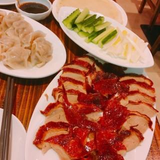 片皮鴨(半隻) - 位於大角咀的老掌櫃東北菜館 (大角咀) | 香港